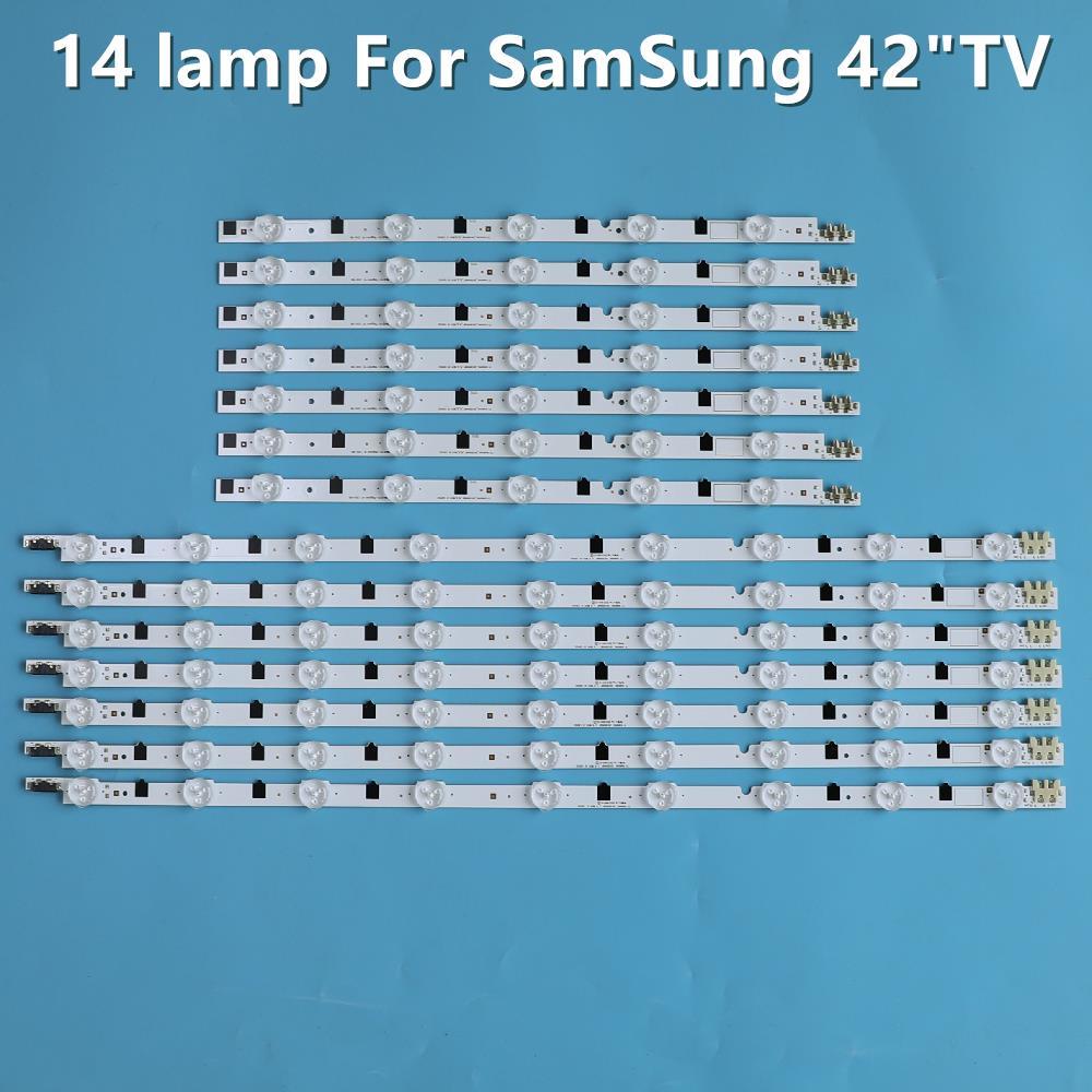 Светодиодный Подсветка полосы 42 дюймов 15 Светодиодный s для UE42F5000 UE42F5000AK UE42F5300 UE42F5500 UE42F5700 UE42F5030 BN96-25306A BN96-25307A