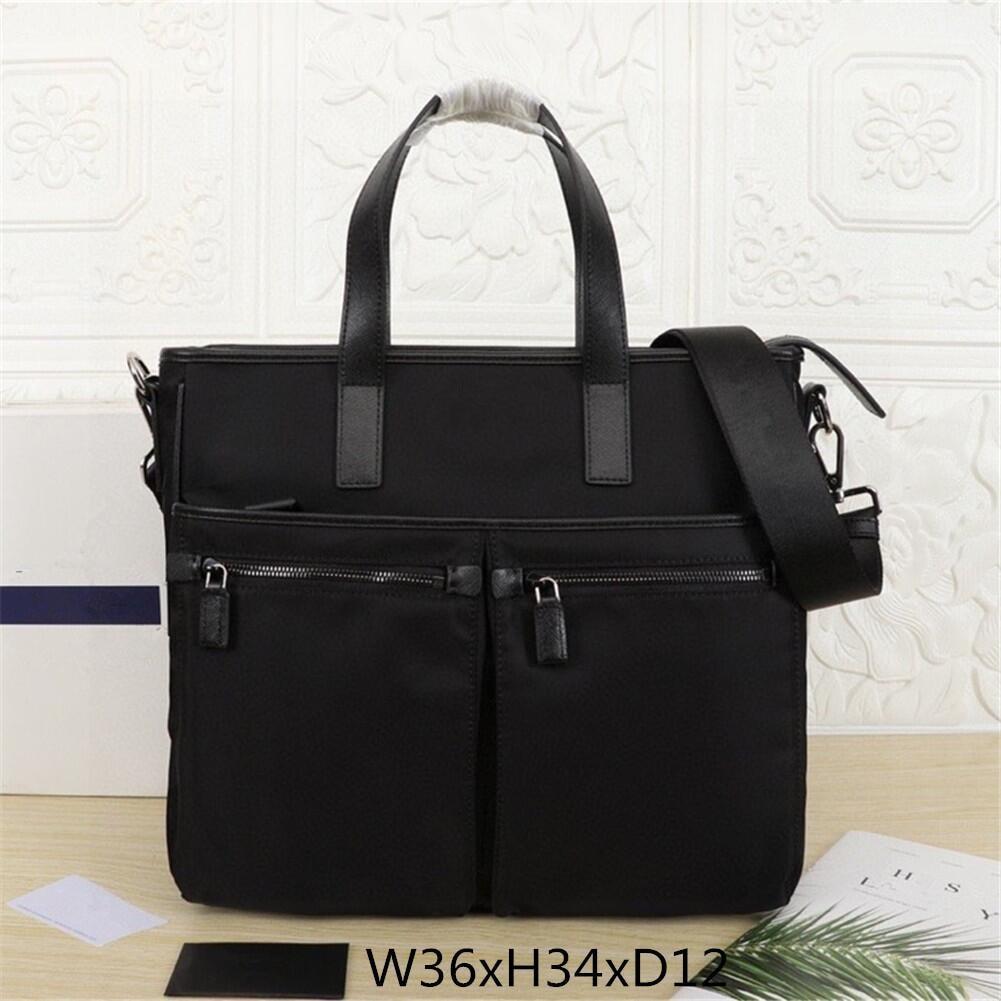 الرجال الفاخرة حقيبة غير رسمية حقائب عمل نايلون الرجال حقائب أنيقة