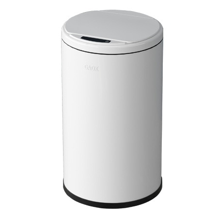 6L Round Smart Trash Can Kitchen Induction Type Garbage Bins Bathroom Cleanning Bucket 1.6 Gallon enlarge