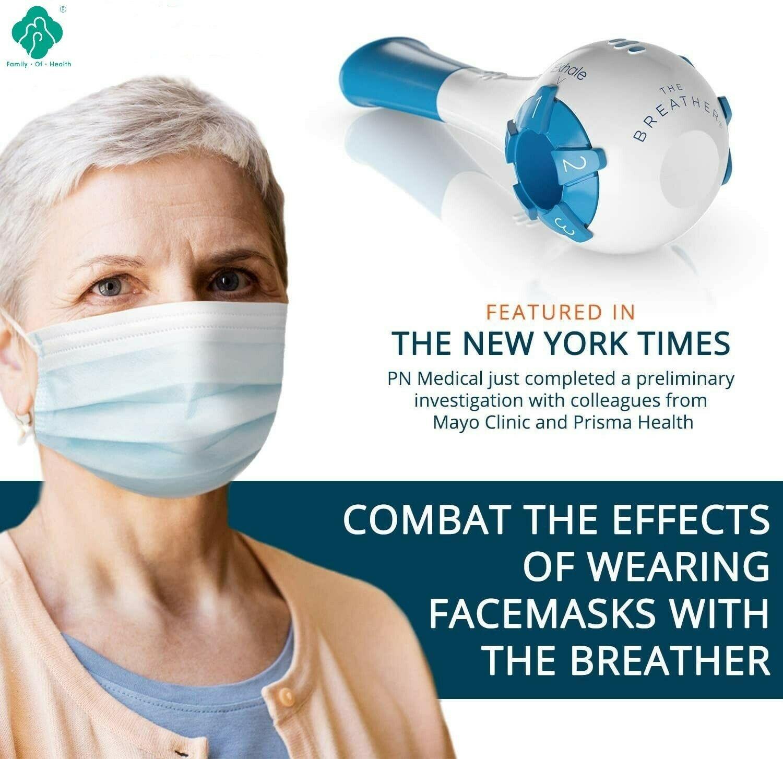 Pulmonary function breathing training device vital capacity exercise lung function rehabilitation device portable