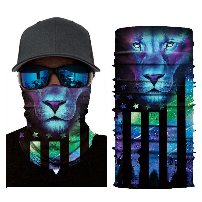Новый Дэдпул животных Ветрозащитный волшебный шарф для велоспорта лыжный бесшовный Балаклава головной убор шеи гаитер походная маска банданы