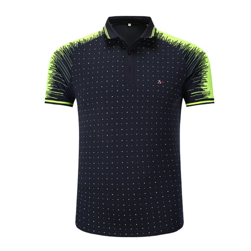 2020 reserva-camiseta de tênis masculina, camiseta polo de algodão com bolinhas para ocasião casual e negócios