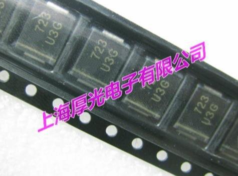 Novo 100 original pçs/lote MURS340T3G MURS340 3A 400V DO-214AD