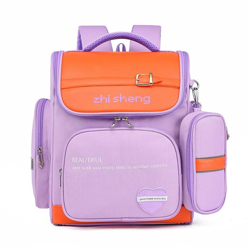 Waterproof children school bags Girls Boys primary school backpack Kids Satchel Orthopedic Backpack schoolbags mochilas infantil