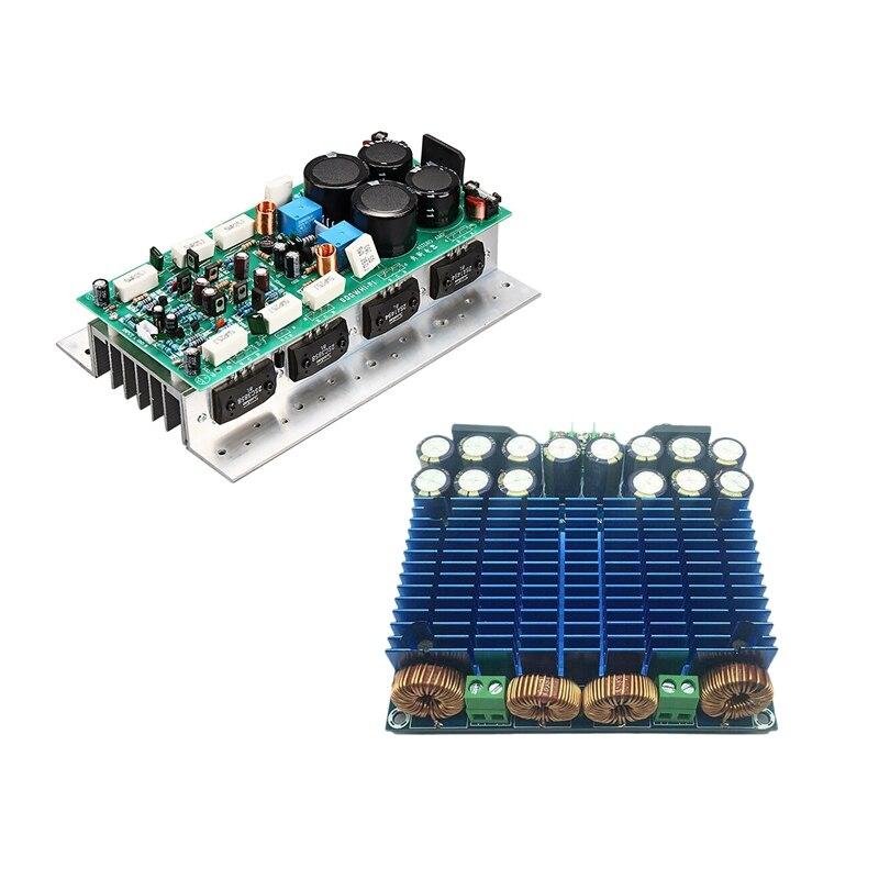 Hot-Sanken1494/3858 HIFI مضخم الصوت مجلس 450 واط + 450 واط ستيريو أمبير مونو 800 واط و TDA8954TH 420 واط + 420 واط عالية الطاقة فئة D المزدوج تشان