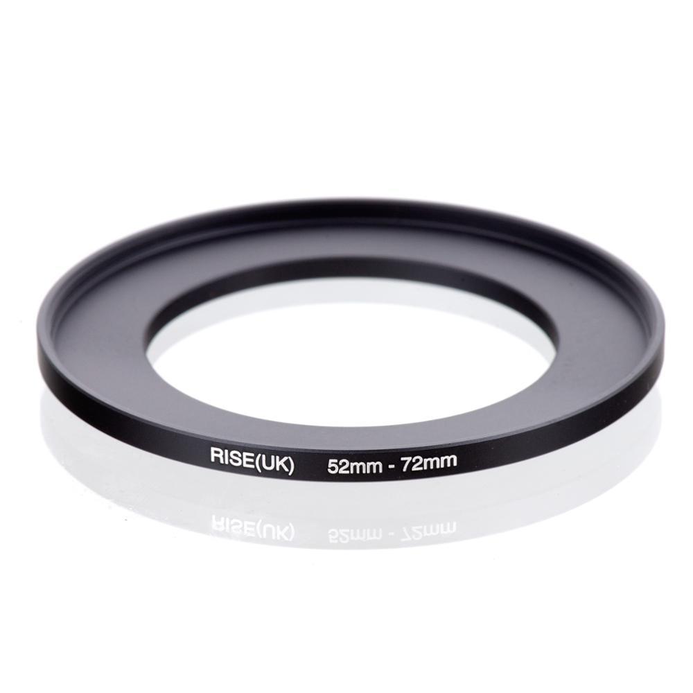 Rise (reino unido) 52mm-72mm 52-72mm 52 a 72 intensifique o adaptador do anel de filtro