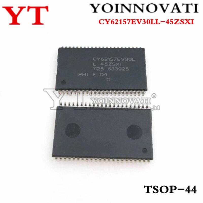 2 unids/lote CY62157EV30LL-45ZSXI CY62157EV30LL cy62157ev30ll-45zsxit CY62157 TSOP44 mejor calidad