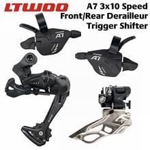 Ltwoo A7 2X10/3X10 Vervanging Speed 20 S 30 S + Achter Derailer + Front derailer
