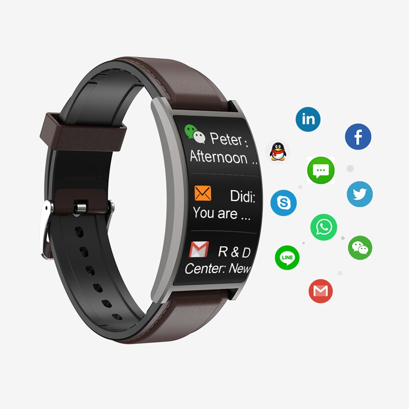 NEW T20 Curved Watch Glass Smart Wristband Bracelet With Calorie Counter Blood Pressure trackers AMOLED Screen Amazon Hot Sell