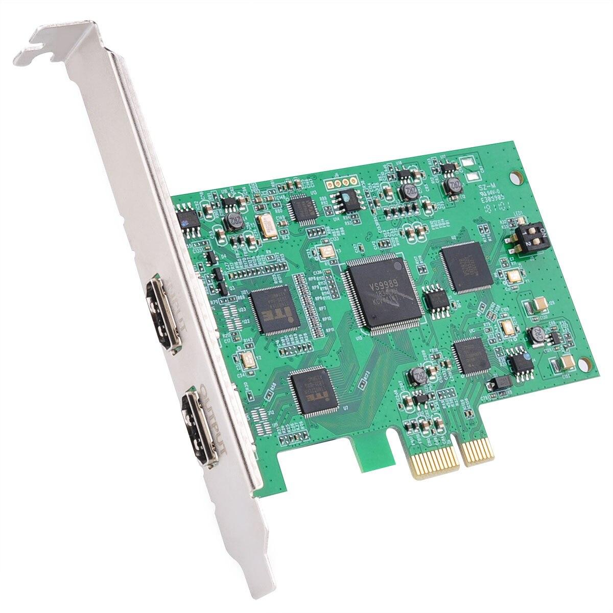 4k 1080P HD EZCAP 294 caja de tarjeta de captura de vídeo para OBS transmisión en directo por Internet para Windows para Xbox PS4 juego grabadora/Reunión