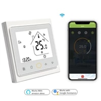 wifi central air conditioning thermostat temperature controller fan coil unit works with alexa google home smart home 2 pipe