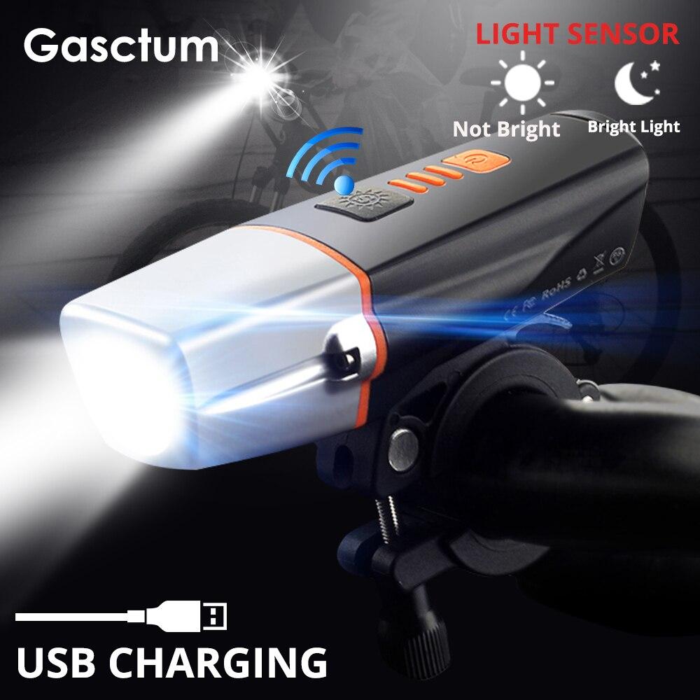 15000 Lumen Induktion Fahrrad Front Licht USB Aufladbare Smart Scheinwerfer T6 LED Fahrrad Lampe Zyklus fahrrad Licht mit Rücklicht