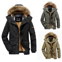 luclesam 2021 winter men warm thicken hooded puffer jacket mens fashion windproof parkas casacos masculinos abrigo hombre