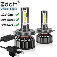 100w car lights h4 h11 h7 led canbus 20000lm 12v 24v turbo 6500k h1 9004 9007 9008 9005 hb3 9006 hb4 h3 led bulb auto headlight