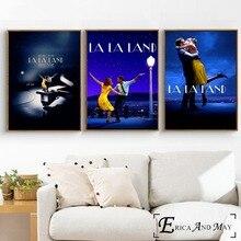 Póster Artístico de La Land Music, póster decorativo para decorar paredes
