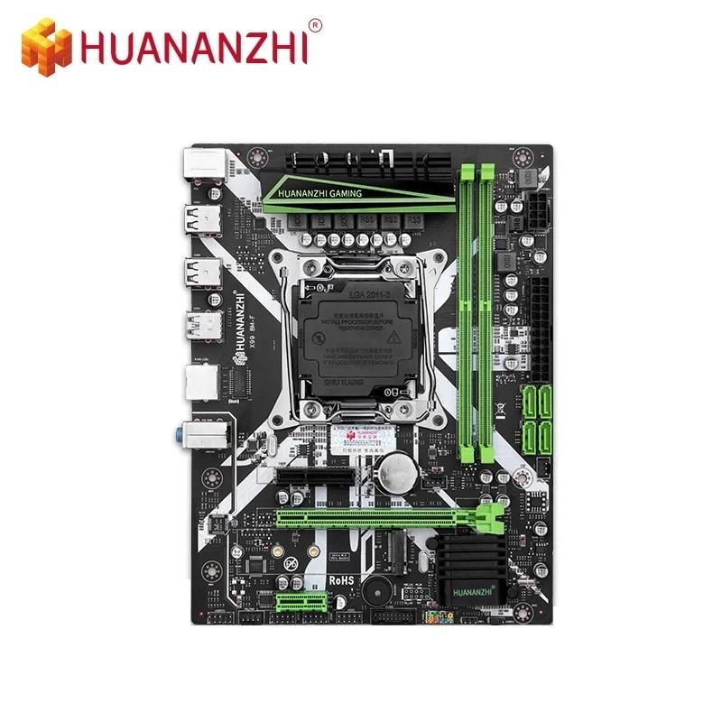 HUANANZHI X99-8M-F اللوحة الأم دعم إنتل سيون E5 X99 LGA2011-3 جميع سلسلة DDR4 RECC NON-ECC الذاكرة NVME USB3.0 SATA MATX
