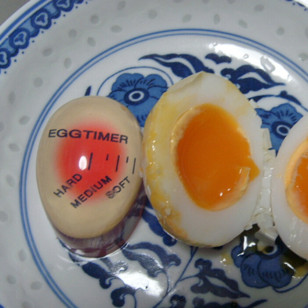 Harz Material Farbe Verändert Egg Timer Perfekt Gekochte Eier Durch Temperatur Küche Helfer