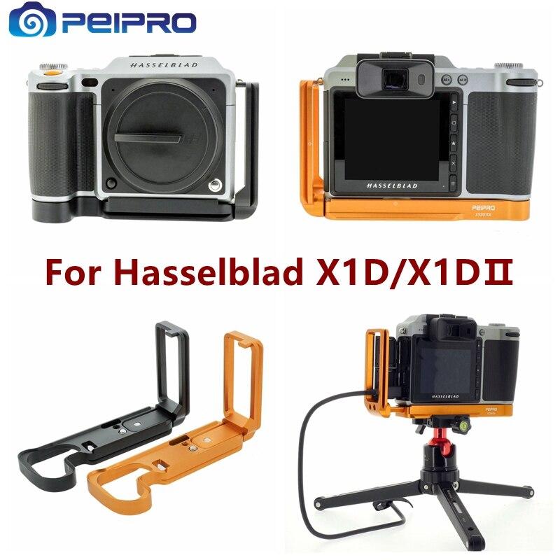 PEIPRO Aleación de aviación de aluminio de liberación rápida soporte de placa en L empuñadura de la cámara para cámaras Hasselblad X1D X1DⅡ