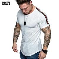 mens clothing summer new fashion streetwear mens t shirt casual round neck short sleeved shirt fitness sportswear