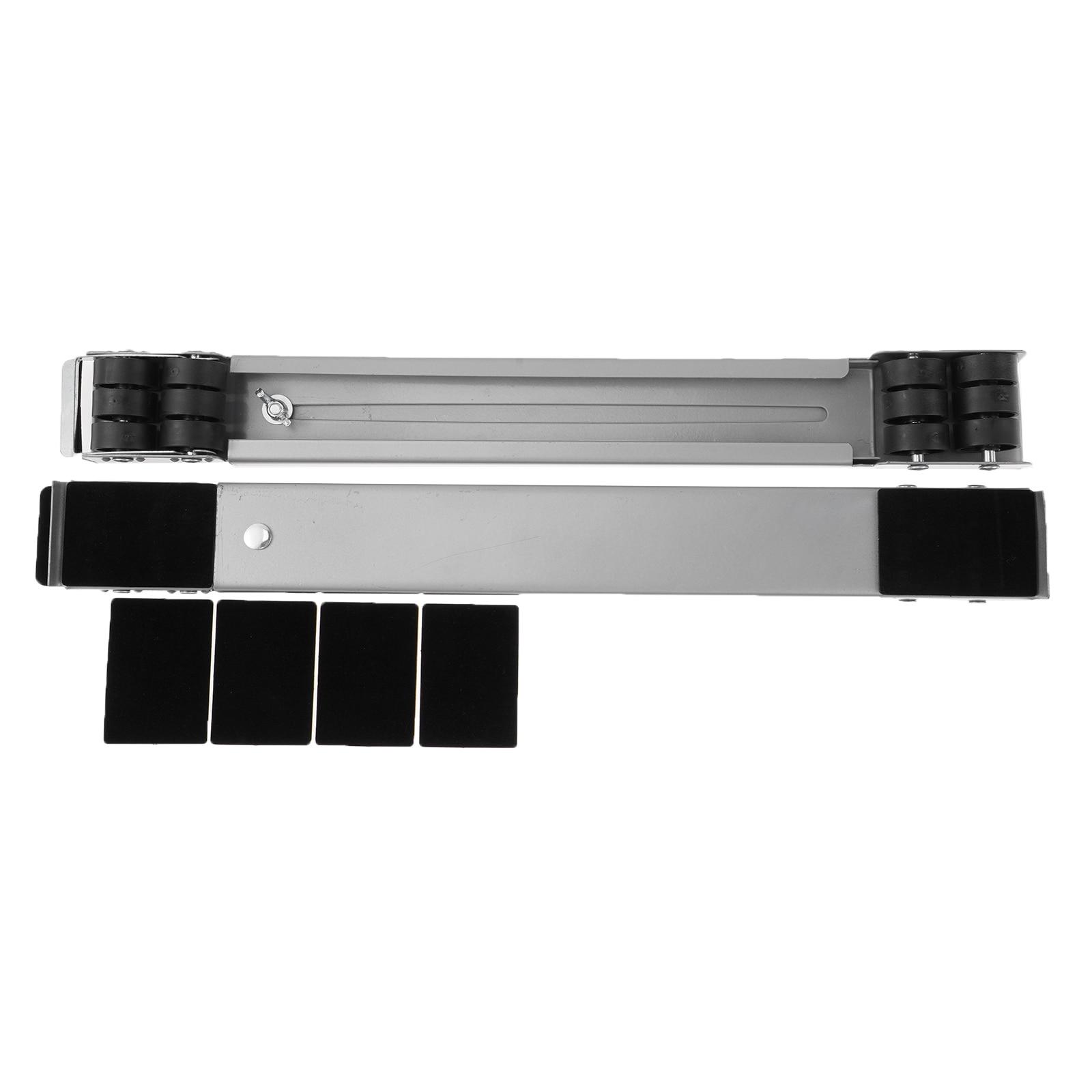 قاعدة معدنية متحركة غسالة الثلاجة قاعدة المحمول دعامة حامل متعددة الوظائف المنقولة قابل للتعديل قاعدة المحمول الأسطوانة