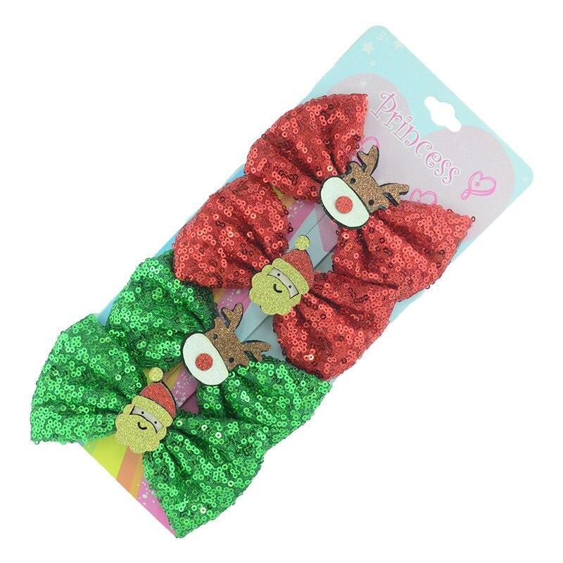4 шт./компл. блестящие шпильки для волос для девочек, детские головные уборы, блестящие боковые заколки для волос, головные уборы