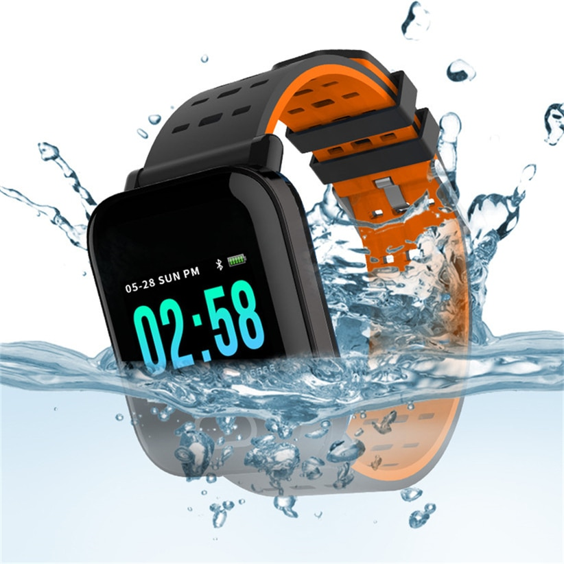 Hot Sale A6 Smart Watch with Heart Rate Monitor Fitness Tracker Blood Pressure Smartwatch Waterproof For Android IOS