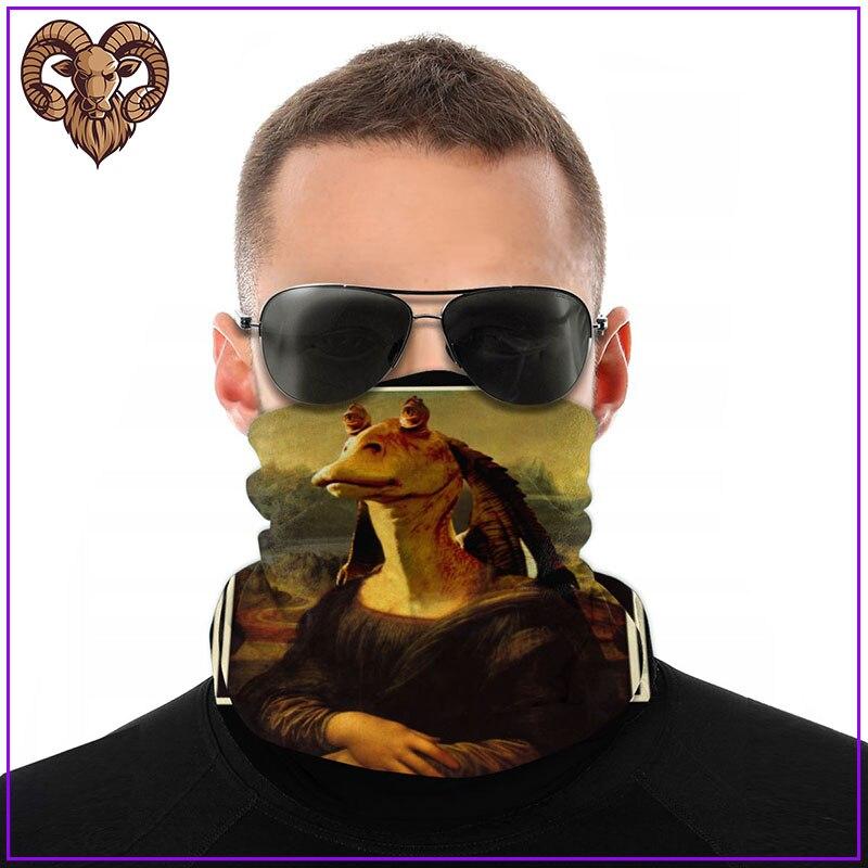 Mona Binks-Inspired by Star Wars Men Women facemasks for virus protection cool cotton facemasks pm2.5 mask filter skin care