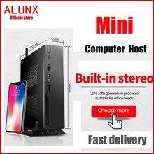 ALUNX Mini PC computer Intel Core i3 i5 i7 Windows 10 Pc Desktop Computer HTPC HDMI VG Industrial Pc