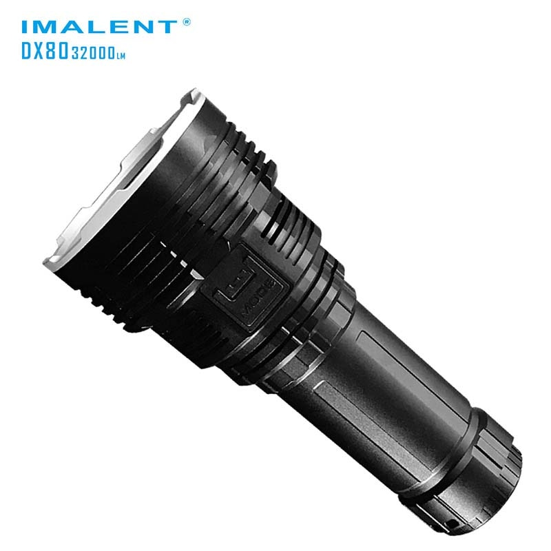 IMALENT DX80 8xCREE XHP70 32000 Lumens, High Performance, Search Outdoor Light, Direct Recharge LED Flashlight enlarge