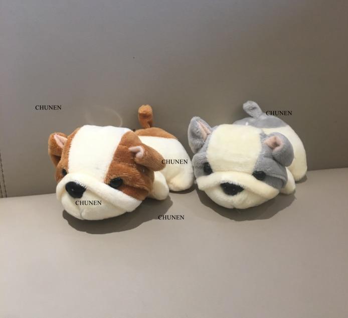 2Colors - NEW DOG Plush Stuffed TOY Animal DOLL , 11CM Dog Figure DOLL Keychain Plush TOY