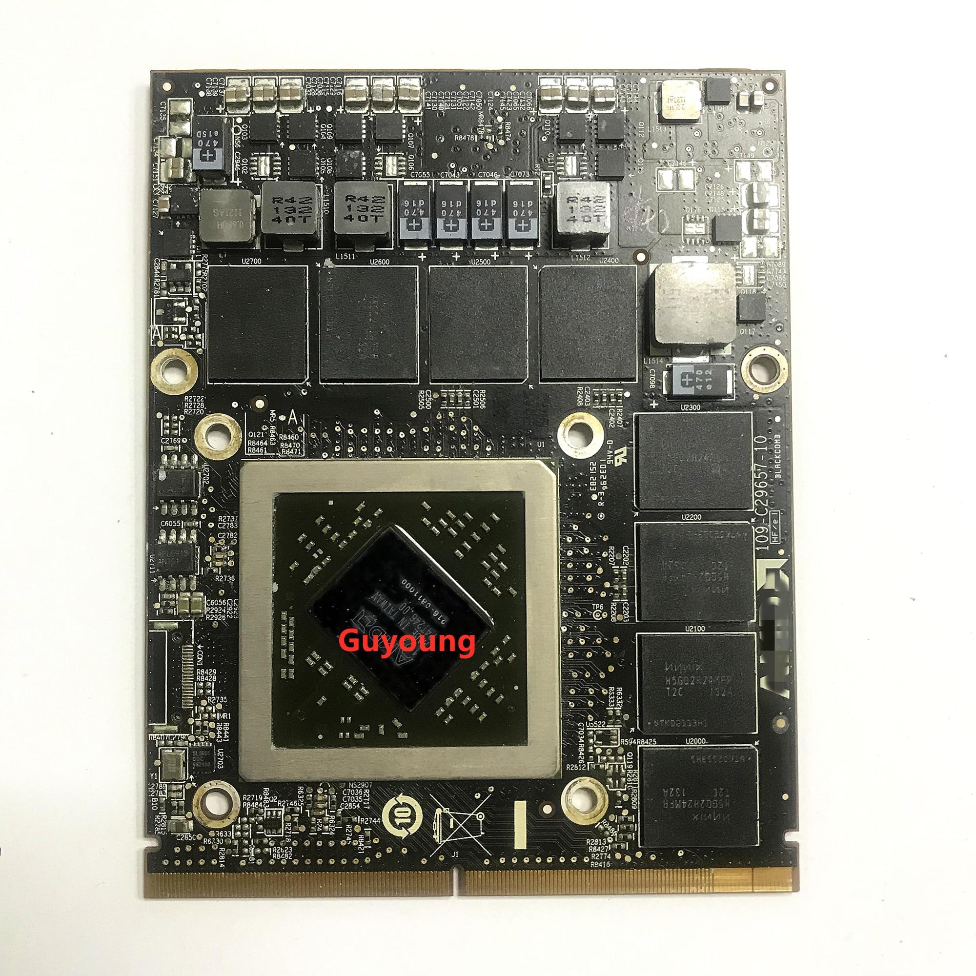 "HD6970 HD6970M 1GB 2GB 216-0811000 Video Graphics Card 109-C29647-00 For Apple iMac 27"" A1312 100% Test OK"
