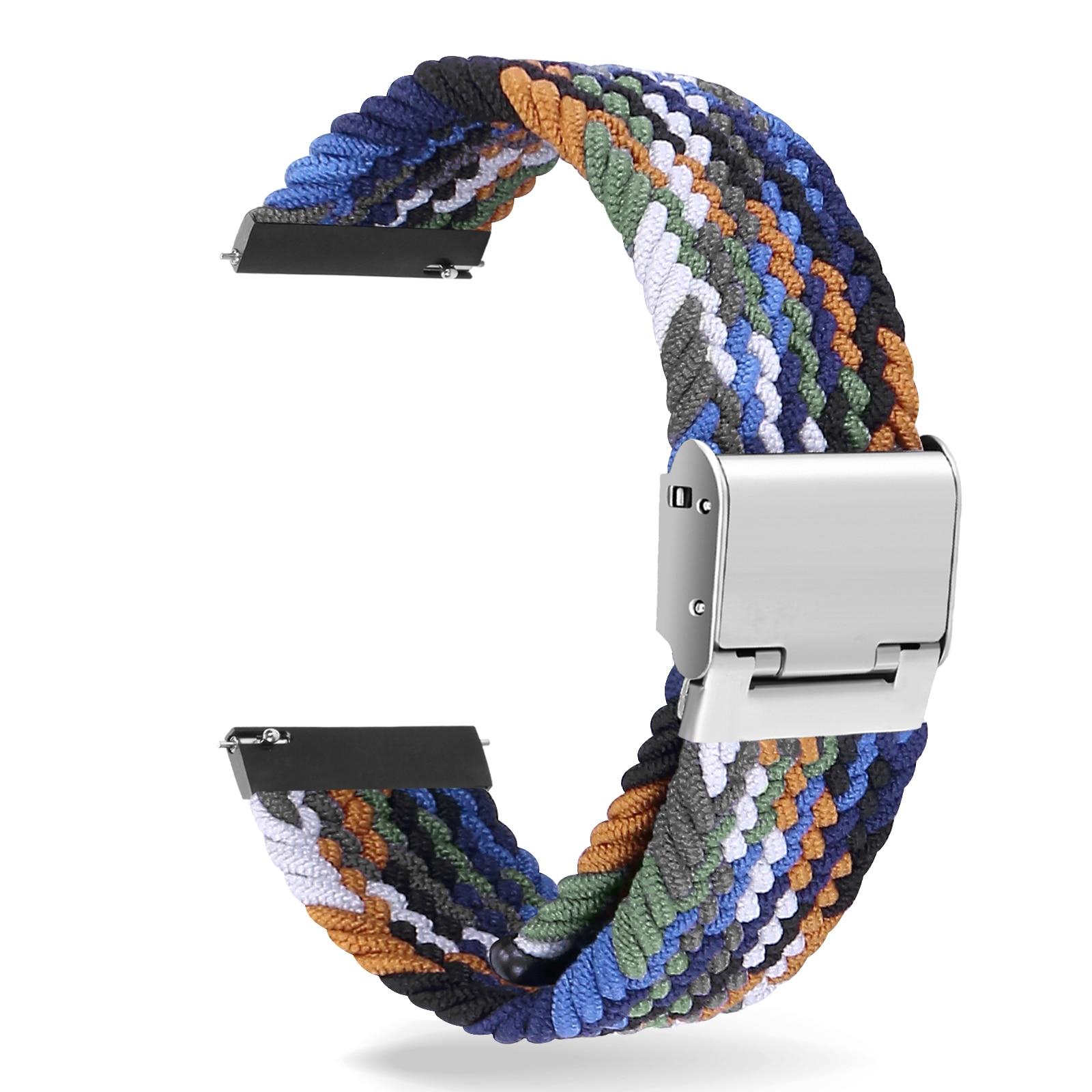 bracciale-elastico-in-nylon-intrecciato-regolabile-in-lunghezza-per-samsung-s1-s2-s3-smartwatch-20-22mm-cinturino-sportivo-ad-anello-singolo