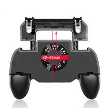SR Controller Gamepad For Pubg Mobile Trigger L1R1 Shooter Joystick Game Pad Phone Holder Cooler Fan