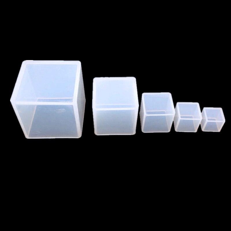 DIY кристалл эпоксидная форма для куба бесплатная полировка эпоксидная смола ручной работы украшения форма для украшения сушеных цветов