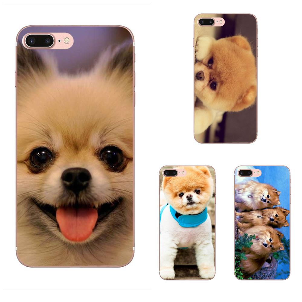 Pomeranian Puppy Dog For Xiaomi CC9 CC9E Mi 3 4 4i 5 5S 6 6X 8 9 SE Play Plus Pro Lite A1 Mix 2 Note 3 Colourful Style