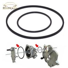 Reamocea 2Pcs Black Rubber Vacuum Pump Seal Kit 11668626471 Fit for BMW V8 E46 E65 E66 E53 E70 E60 E84 E90 745i 545i 645i X1 X5