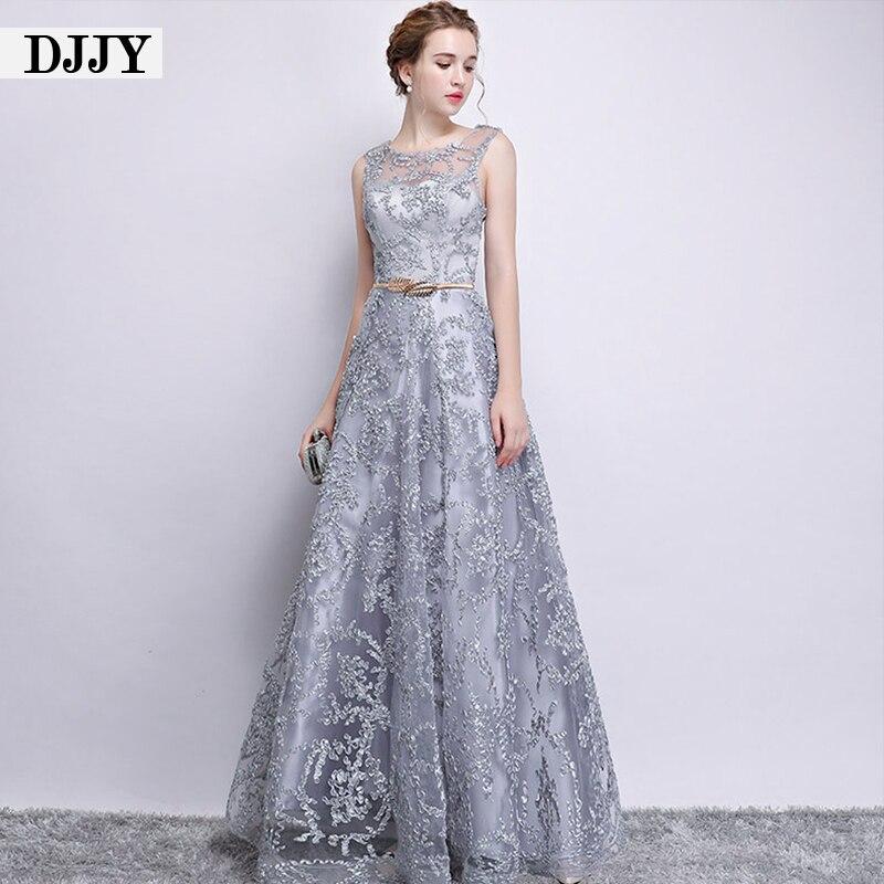 فستان سهرة طويل من الدانتيل بلون الشمبانيا ، فستان حفلات أنيق ، بدون أكمام ، طول الأرض ، مقاس كبير ، مجموعة جديدة 2020
