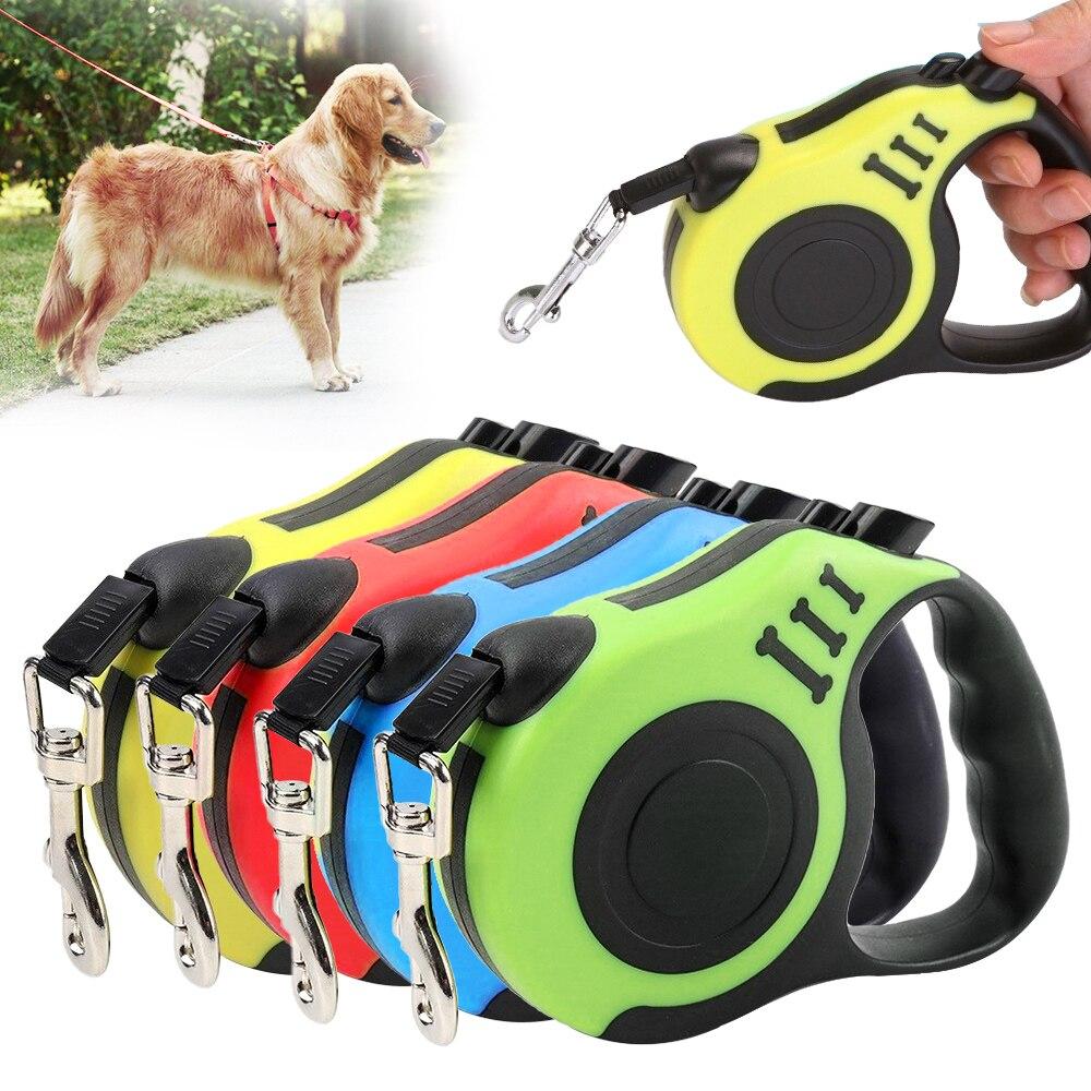 3/5 М прочный поводок для собак автоматический Выдвижной Нейлоновый Поводок для собак, поводок для щенков, поводок для ходьбы, поводок для собак