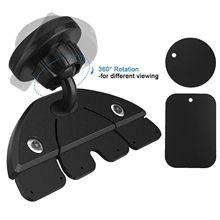 Car CD port car mobile phone bracket car creative magnetic navigation support bracket magnet versati