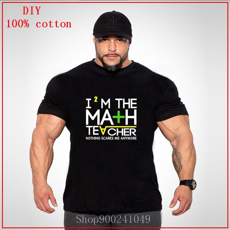 2020, camiseta divertida de profesor de matemáticas de talla grande para hombre, camiseta de Fitness, camisetas de algodón puro, chándal divertido, ropa casual Grunge para mujer
