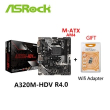 Neue ASRock Original Buchse AM4 A320 Motherboard A320M-hdv Desktop Board Mainboard Motherboard