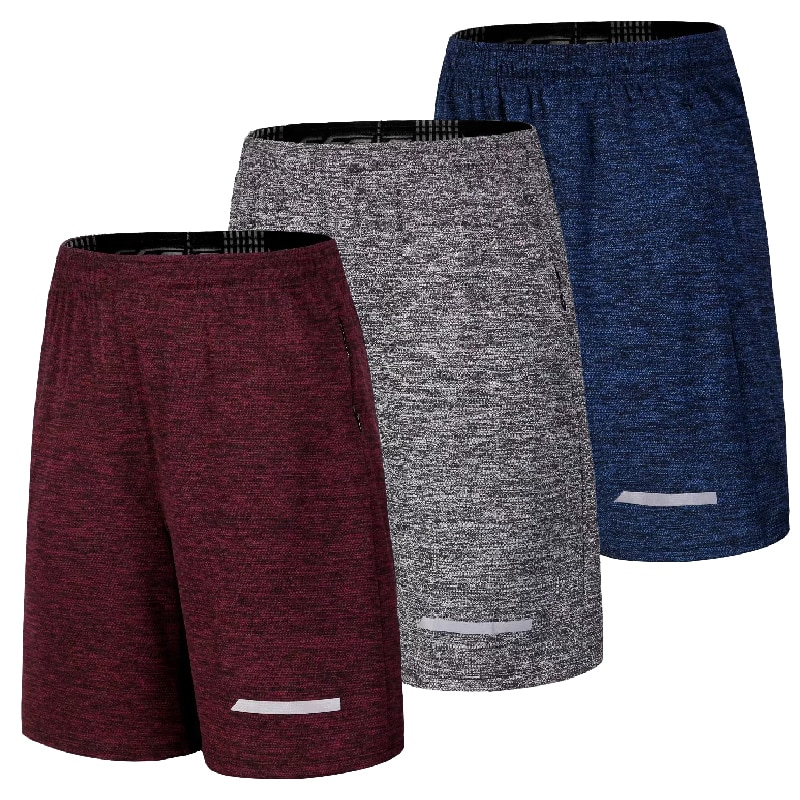 Sport Shorts Men Running Jogging Bodybuilding Gym cotton Shorts Quick Dry Track and field Tennis Sho