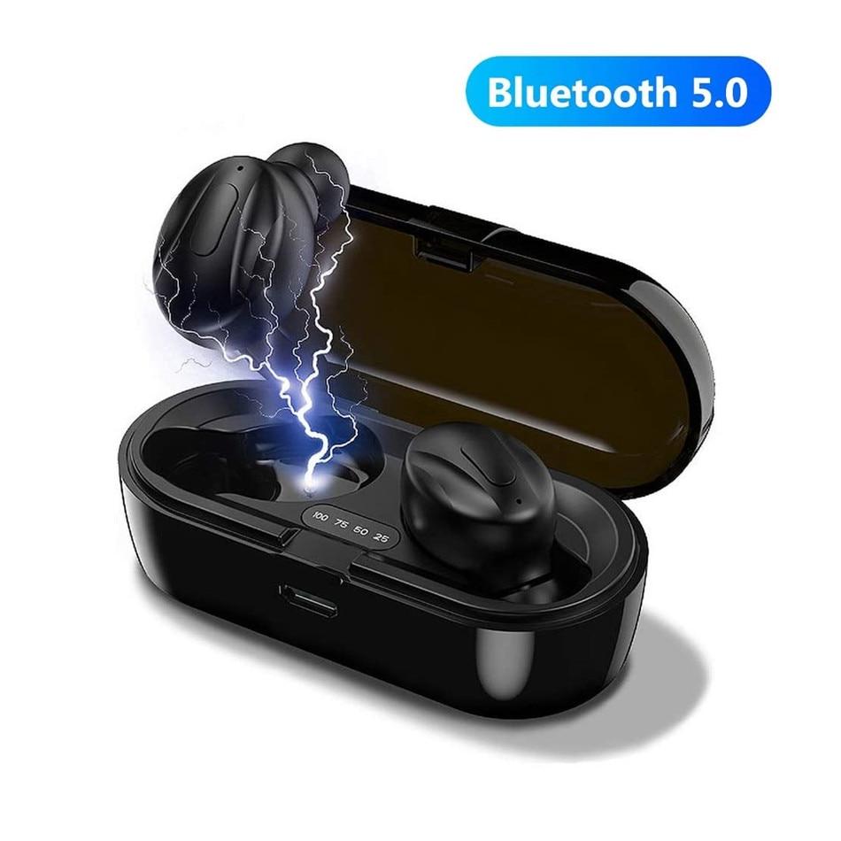 Bluetooth V5.0 Earphones TWS True Wireless Headphones In-Ear Earbuds Waterproof Mini Headsets HiFI Stereo Sports Earpiece enlarge