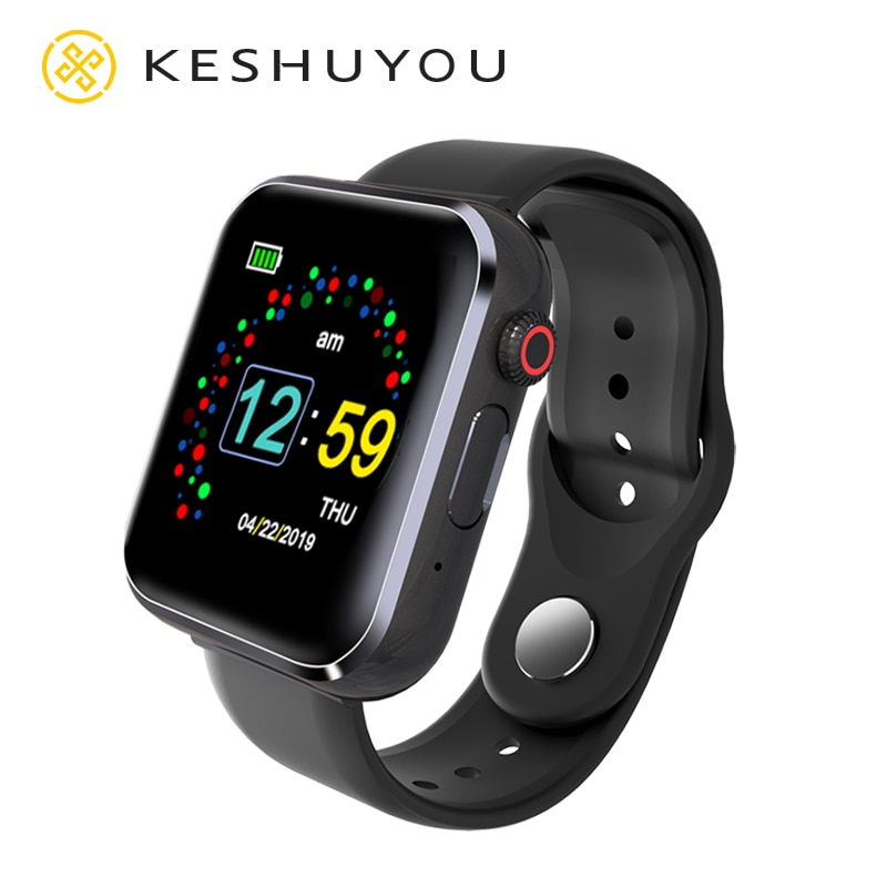 KY001 Bluetooth Smartwatch Men SIM And TF Card Pedometer Camera Music Play Stopwatch Message Reminder Watches For OPPO Apple