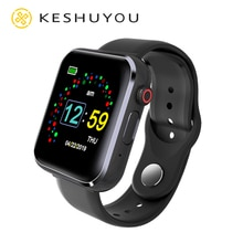 KY001 Bluetooth Smartwatch Men SIM And TF Card Pedometer Camera Music Play Stopwatch Message Reminde