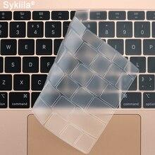 Couverture de clavier de TPU pour Macbook Air 11 12 13 Pro 13 15 16 17 Film Transparent de Silicone de contact mince de rétine clair ue A2179 2020