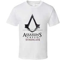 جديد Assasin العقيدة نقابة قميص رجالي الملابس حجم S-2Xl القطن الخالص تي شيرت