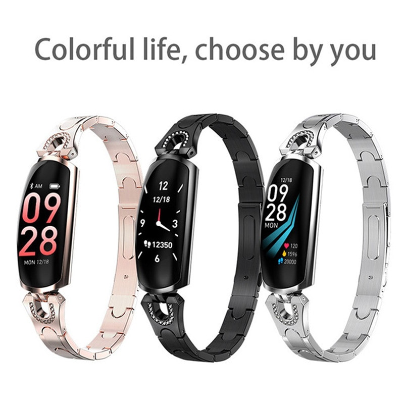 AK16 Smart Watch Women's Wristwatch Sports Watch Smartwatch Women's Watches Smart Bracelet Heart Rate Sleep Monitor Smart Clock