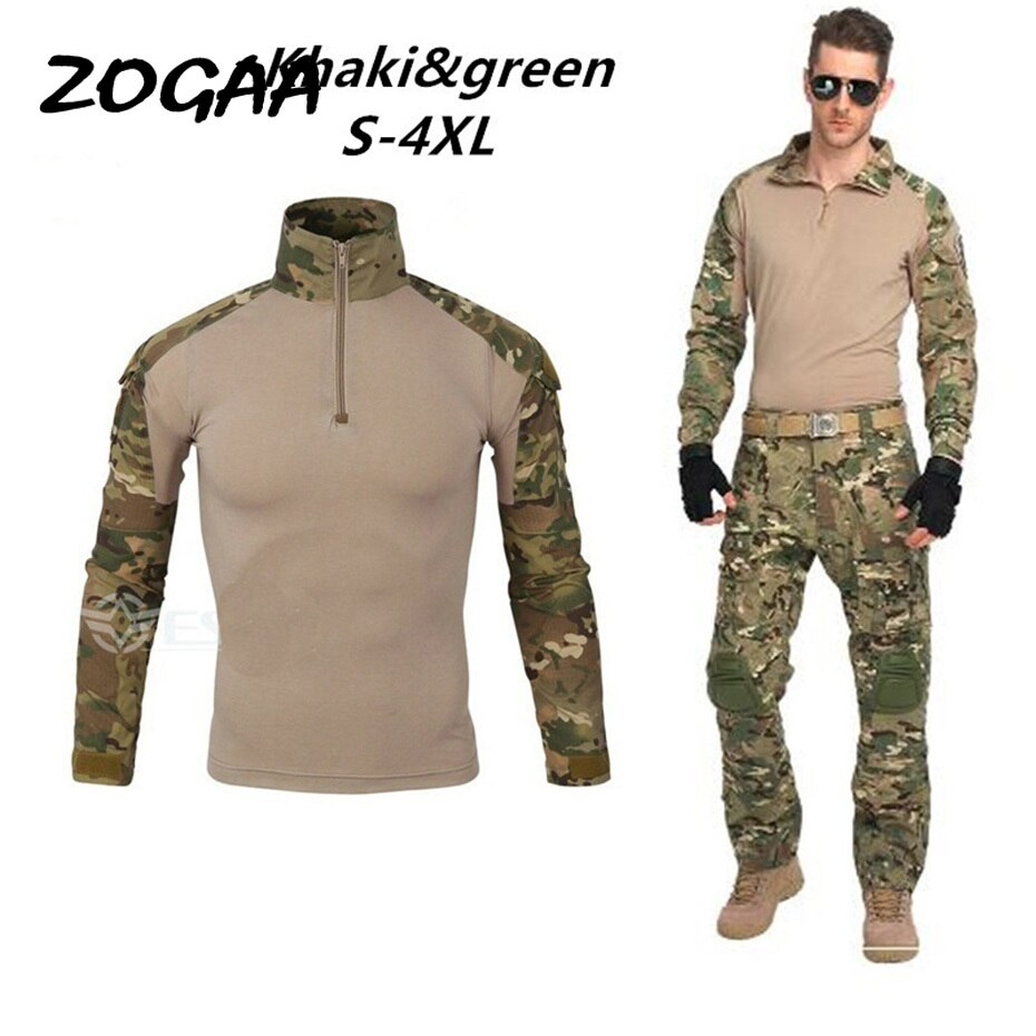 Новый модный мужской комплект камуфляжных толстовок с длинным рукавом мужской спортивный костюм для улицы спортивный костюм мужской стиль...