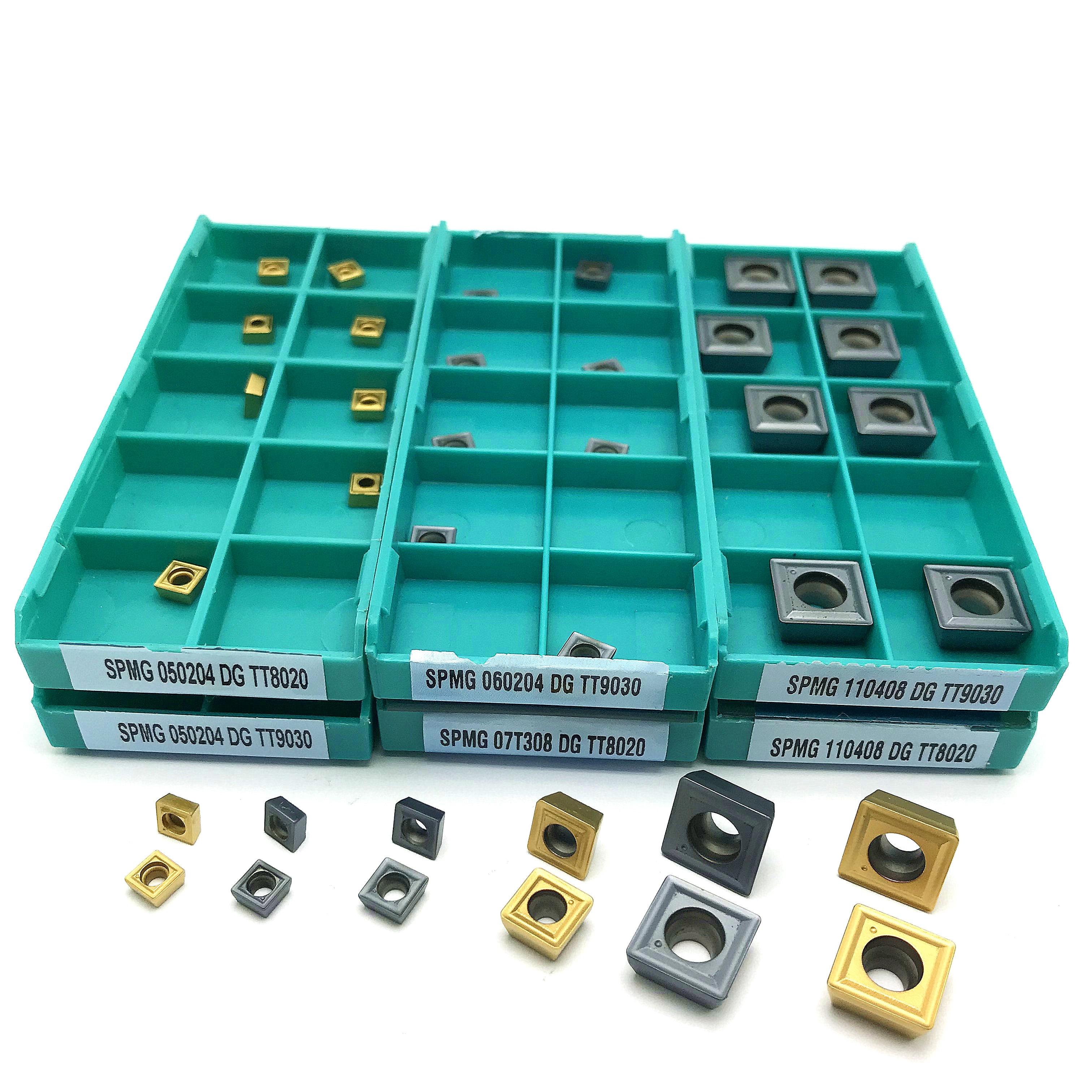 SPMG07T308 DG TT9030 SPMG07T308 DG TT8020 Carbide Insert U-Drilling Tool Lathe Tool SPMG 07T308 Indexable Milling Tool